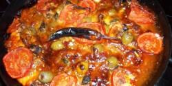 Sprotnis-mozzarellás pizza