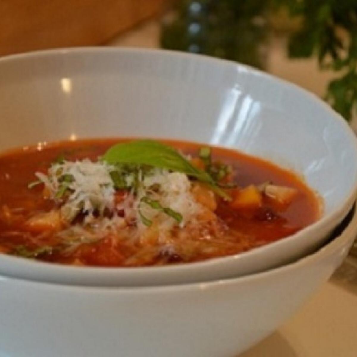 Ezen a képen: Nyári minestrone