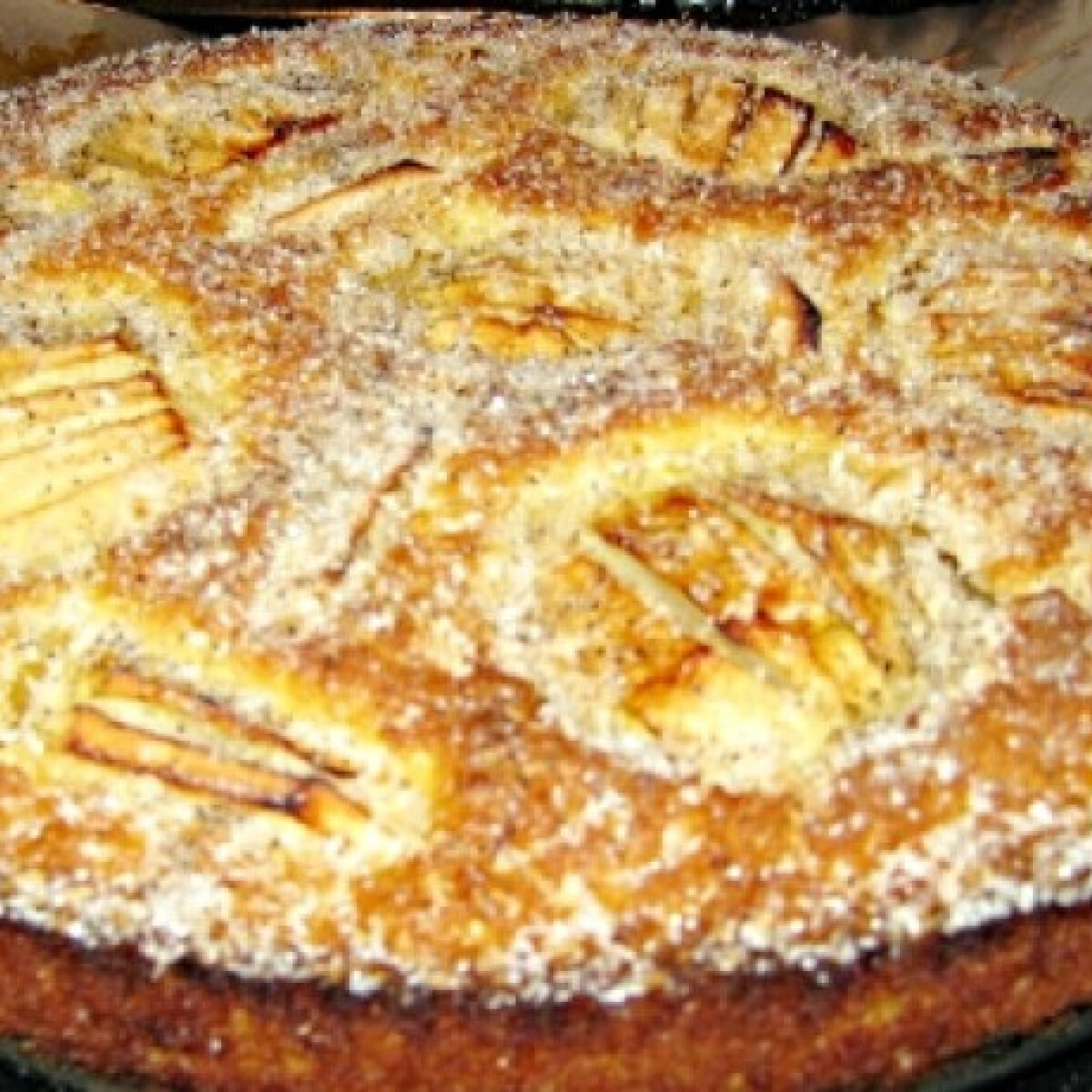 Ezen a képen: Kókuszos almatorta