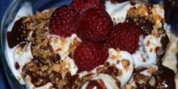 Gyümölcsös fagylaltkehely másképp