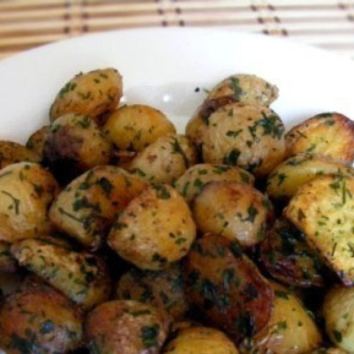 Petrezselymes újkrumpli 3.- olajban sült