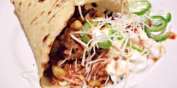 Chillis bab tortillában