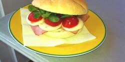 Suliszendvics mozzarellával