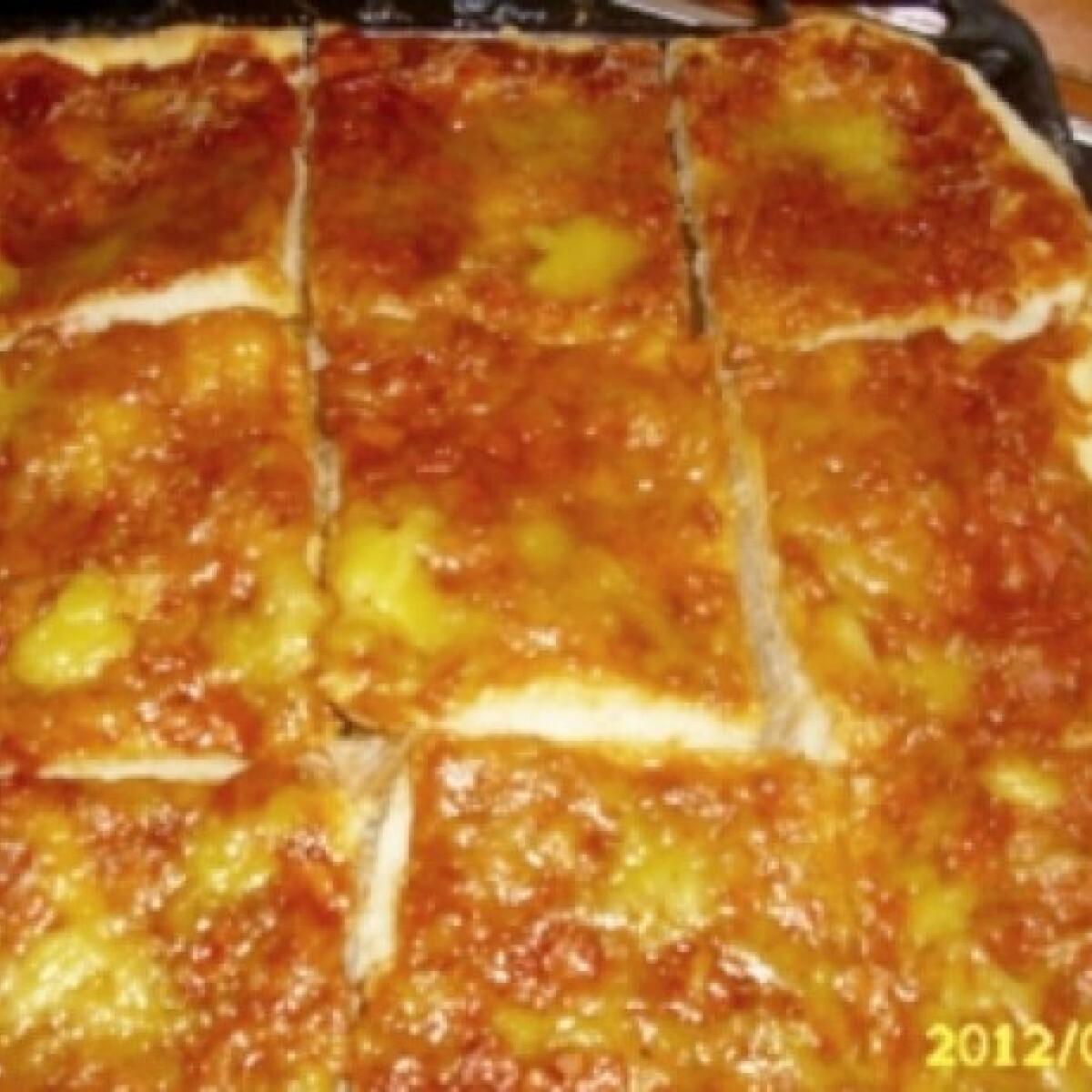 Pizza kinguci konyhájából