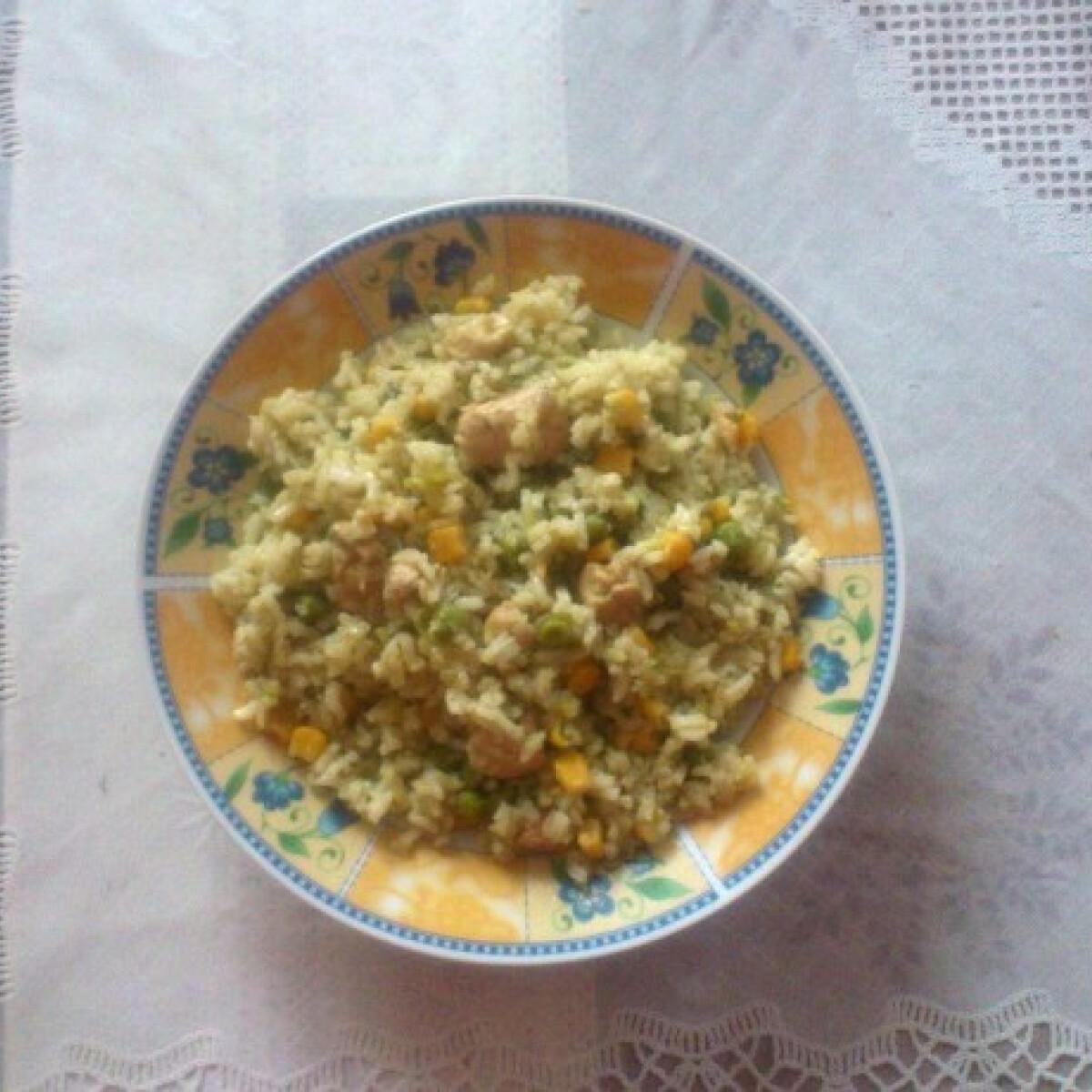Mindig finom rizses csirke