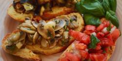 Bruschetta Ágica konyhájából