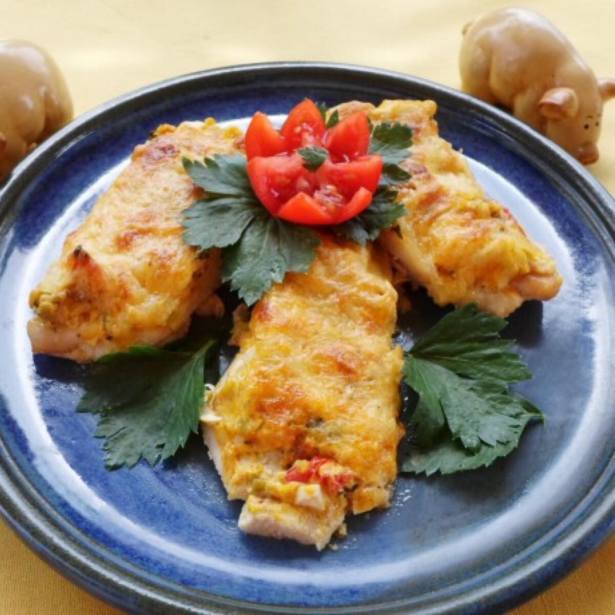 Murai zöldséges csirkemell