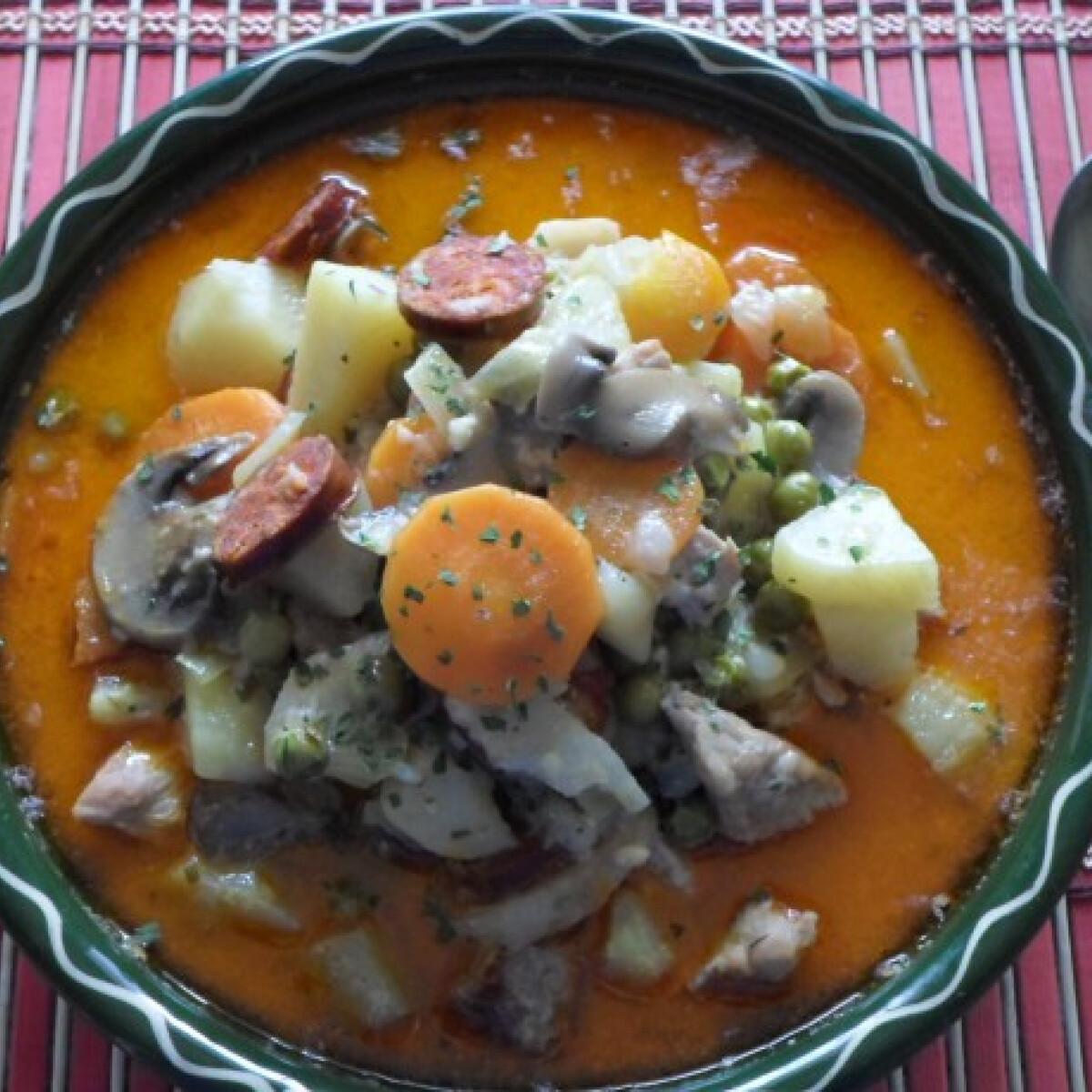 Ezen a képen: Letenyei bőség leves