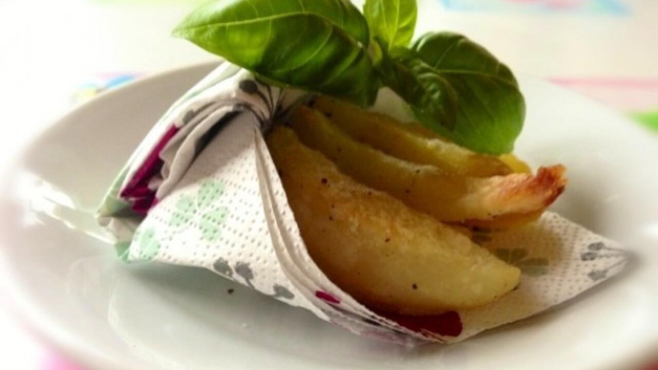 Fokhagymás főtt-sült krumpli - Nosalty