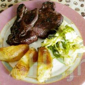 Rostélyos rib eye steak