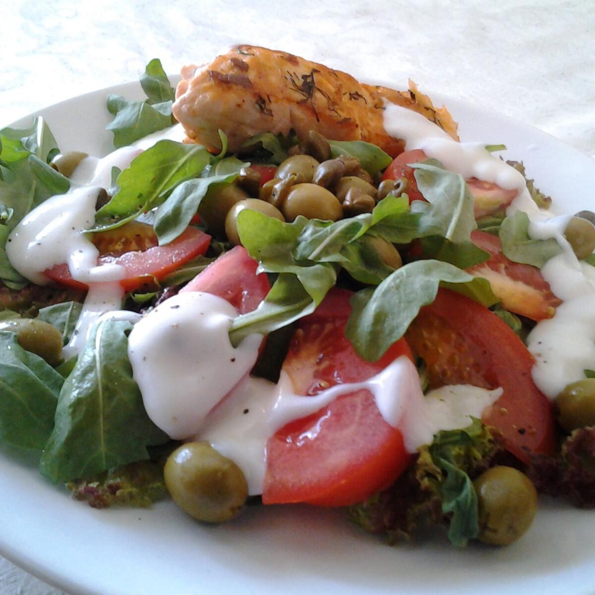 Ezen a képen: Kedvenc nyári saláta Myazs konyhájából