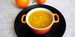 Narancslekvár gyömbérrel