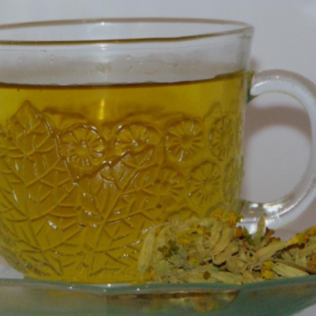Ezen a képen: Kankalinos citromfűtea