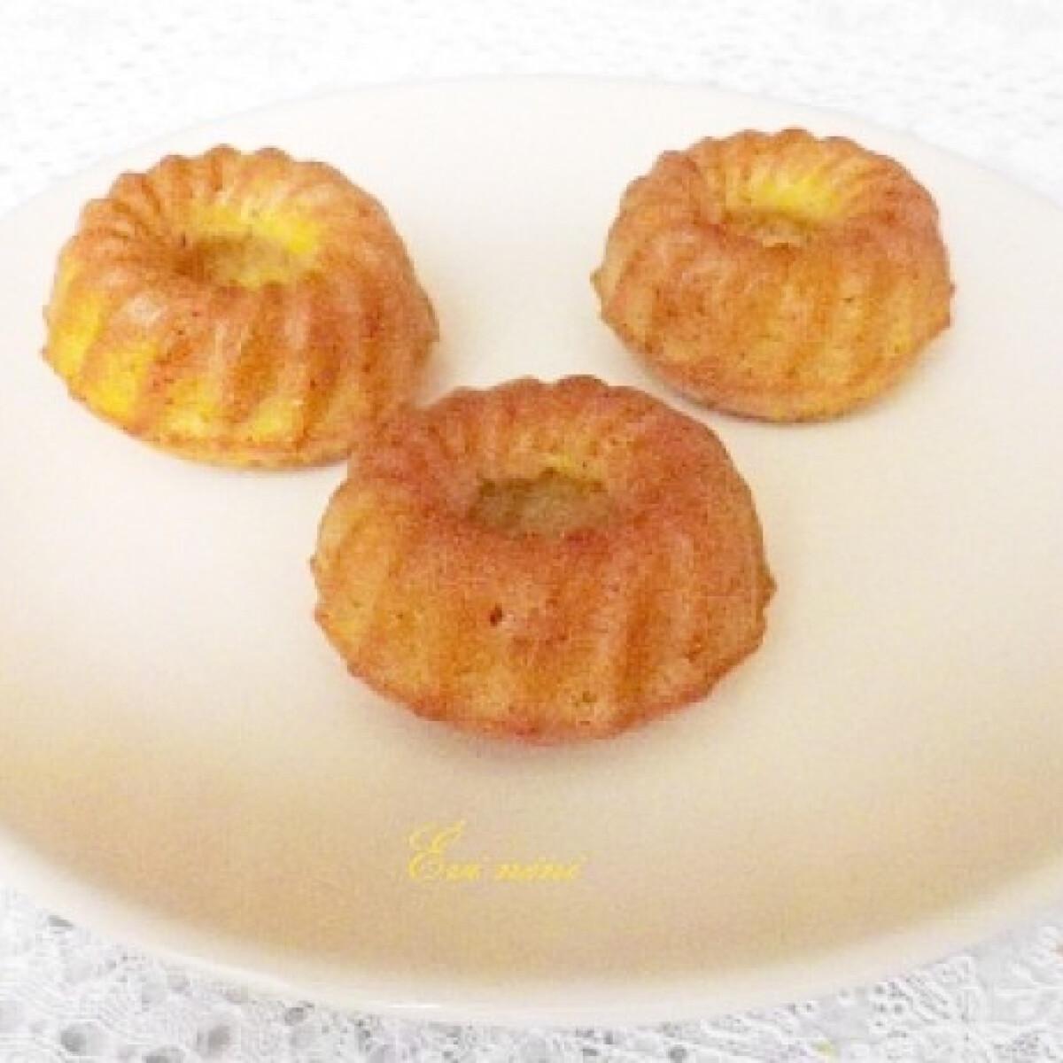 Kardamomos kukoricás muffin