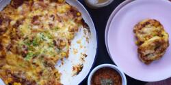 Pizzás minicsigák tonhallal
