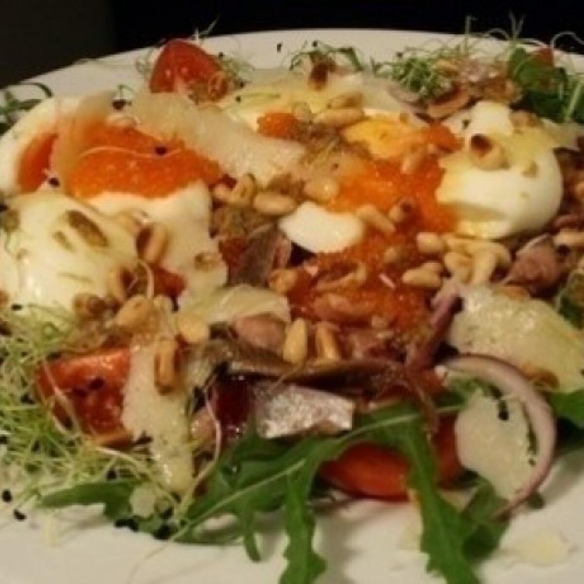 Ezen a képen: Vörös Erik saláta