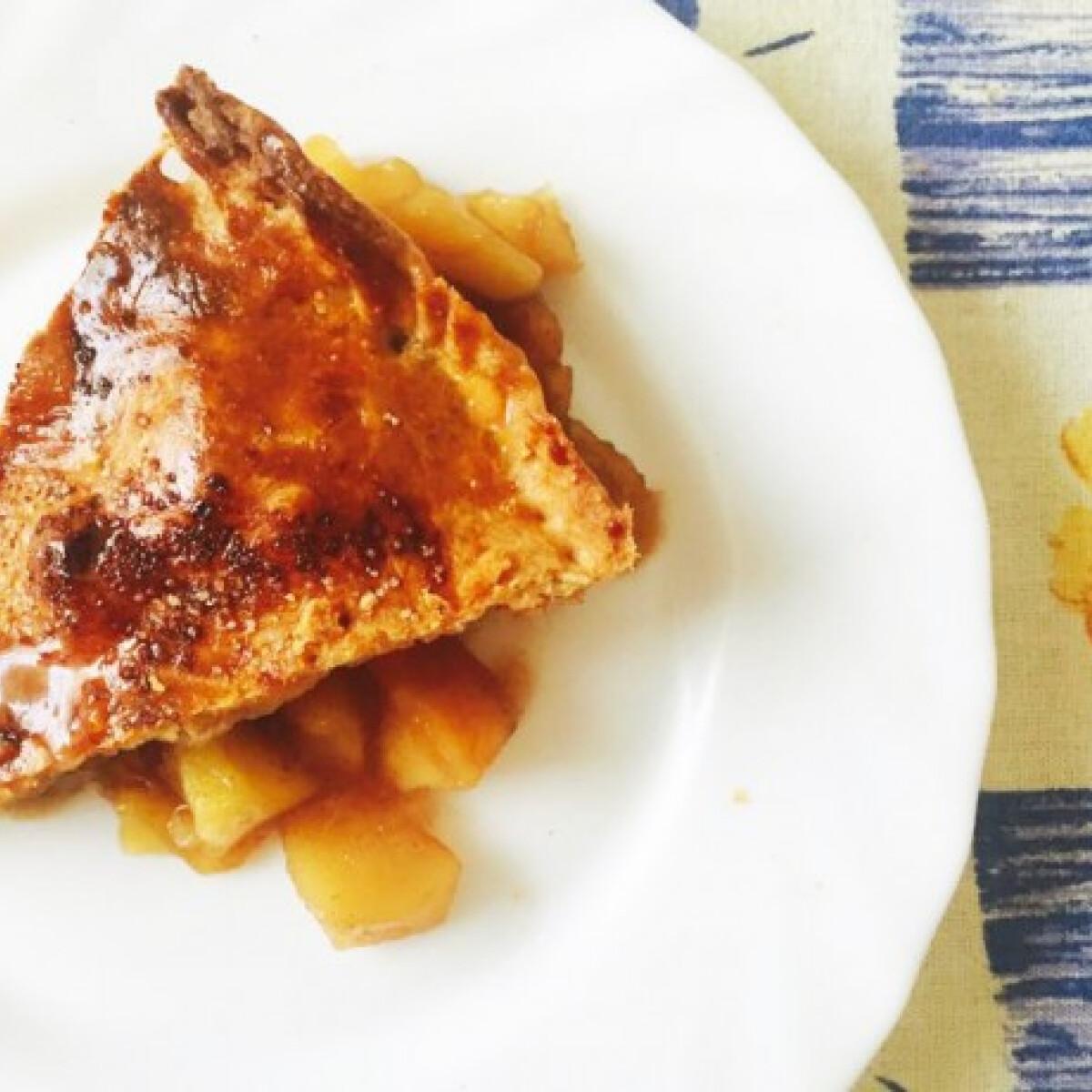 Ezen a képen: Amerikai almás pite egészségesen