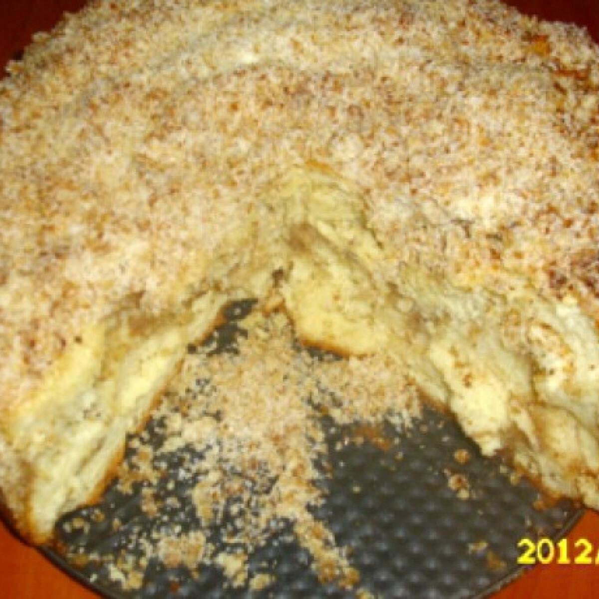 Ezen a képen: Aranygaluska-torta