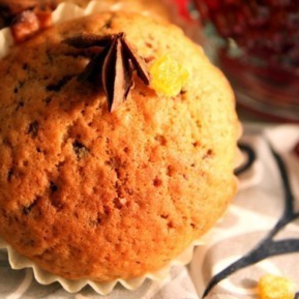 Forralt boros muffin