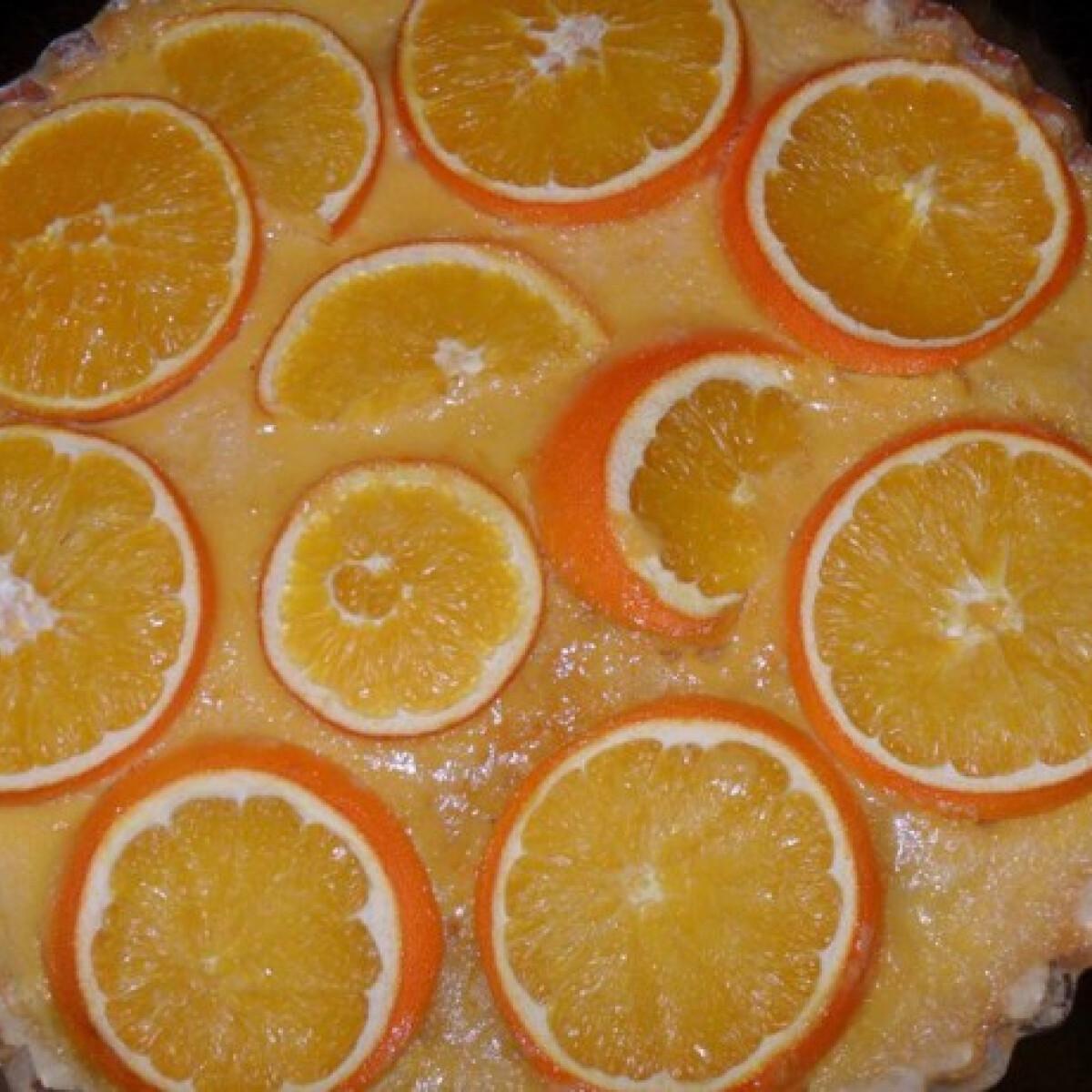 Ezen a képen: Francia narancstorta