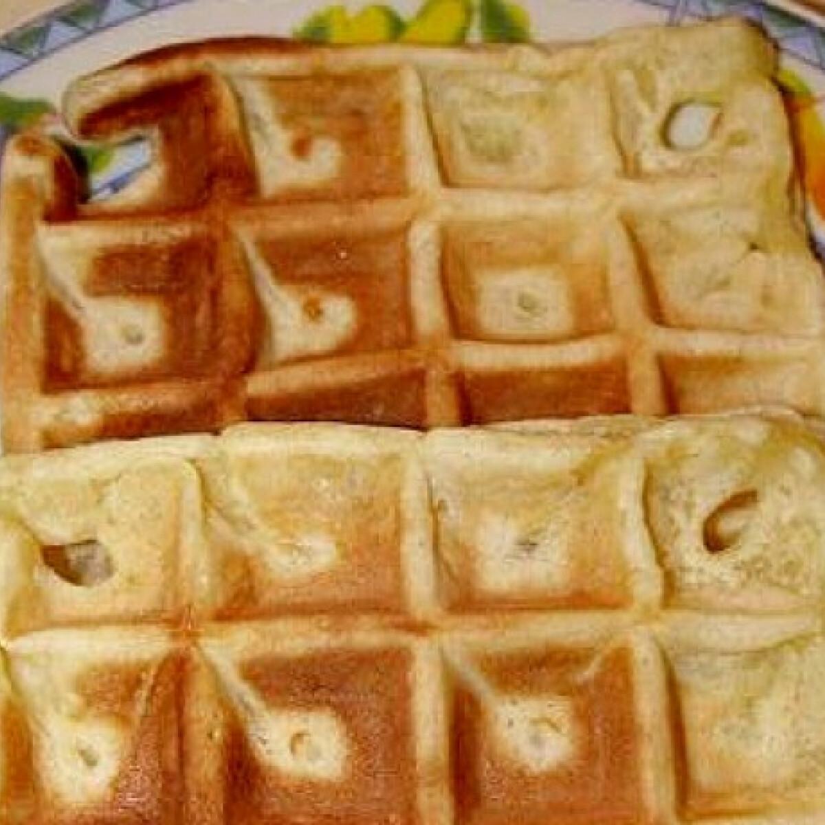 Ezen a képen: Gluténmentes gofri
