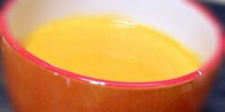 Mézes-gyömbéres sütőtökkrémleves