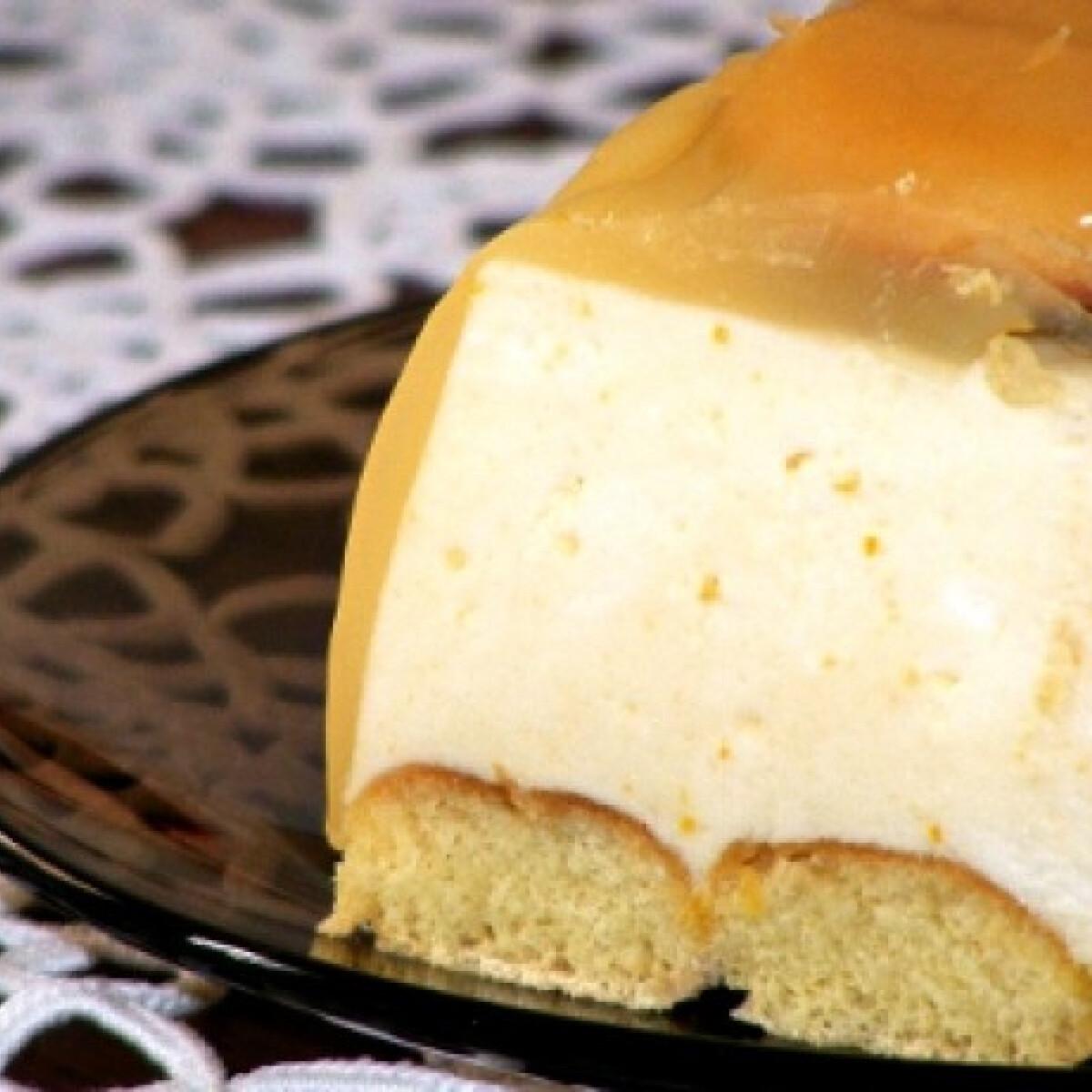 Ezen a képen: Narancskrém torta sütés nélkül