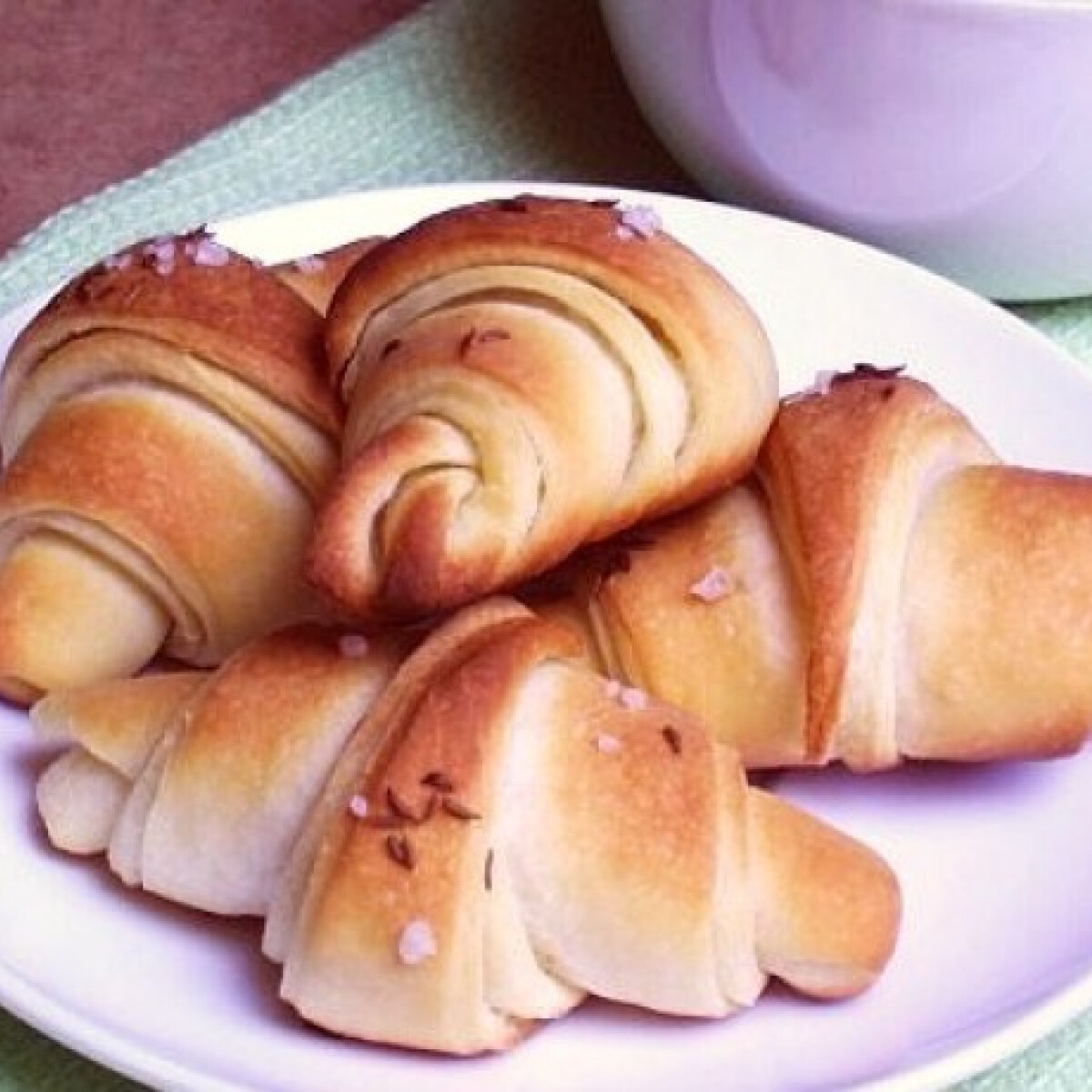 Ezen a képen: Vajas sörkifli klivi konyhájából