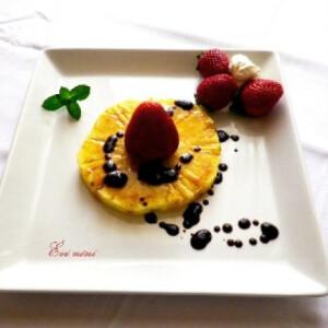 Ananászos eper