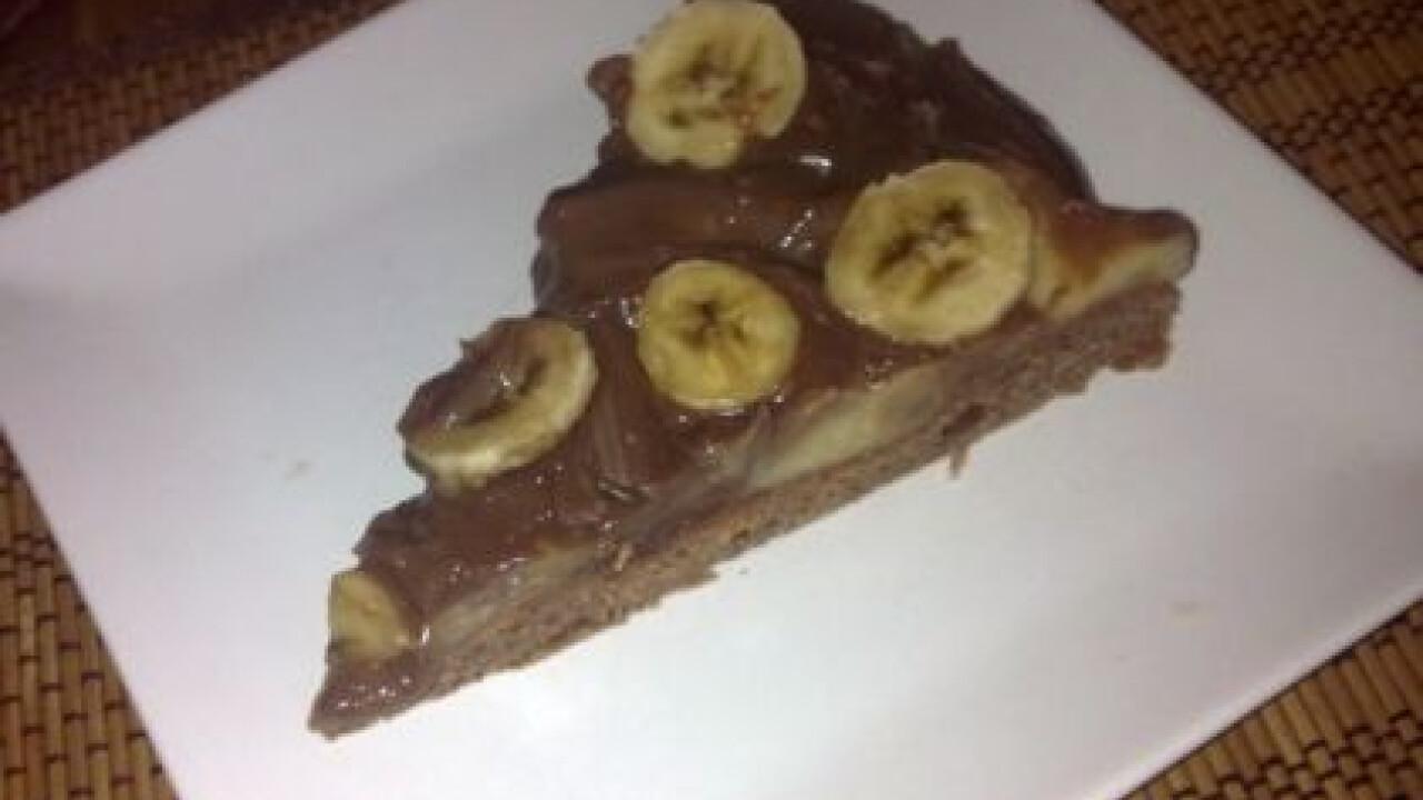 Csokis-banános torta TBetty konyhájából