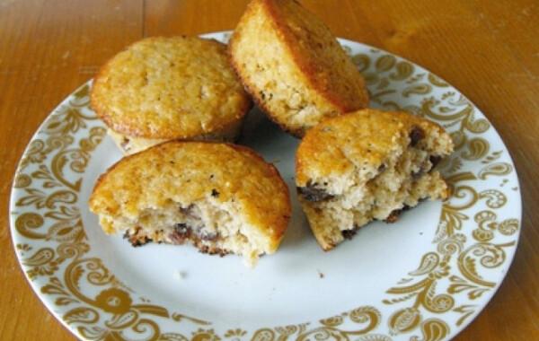 Zabpelyhes-mazsolás muffin
