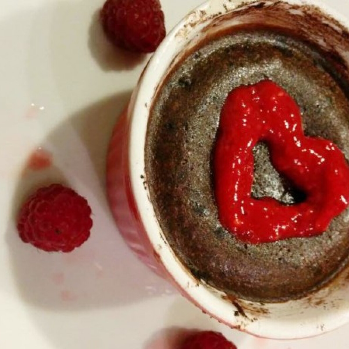 Folyós csokitorta 2 főre cukormentesen