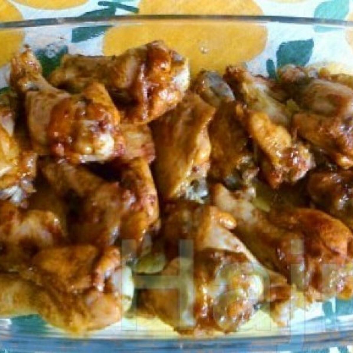 Ezen a képen: Pesto-s csirkeszárnyak