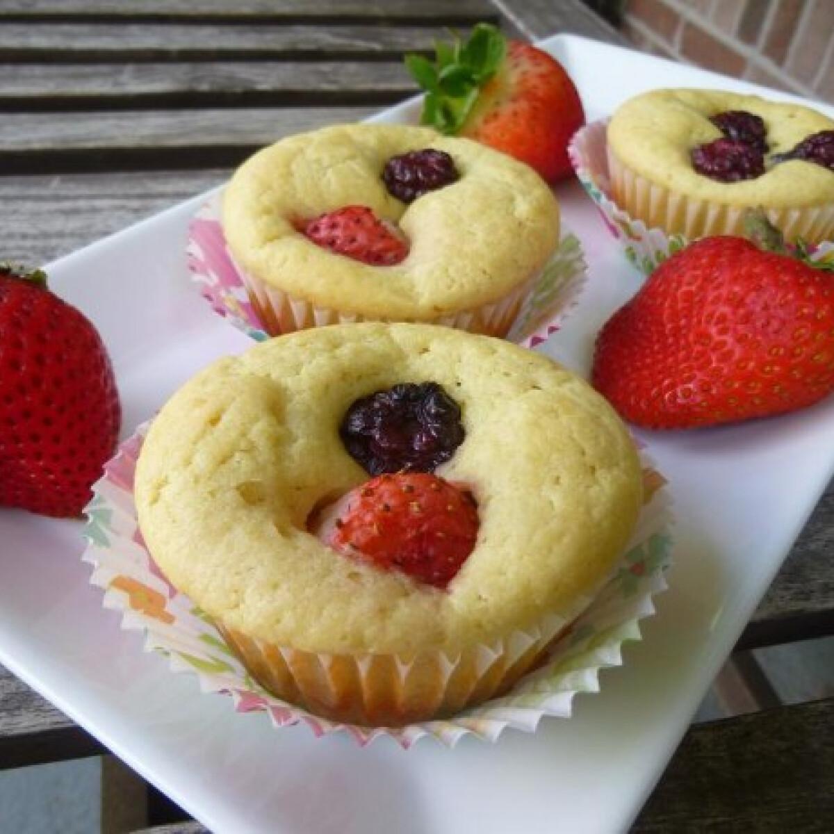 Ezen a képen: Ricotta muffin witch konyhájából