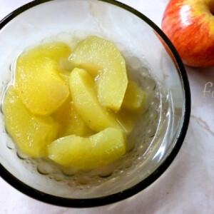 Pikáns almakompót