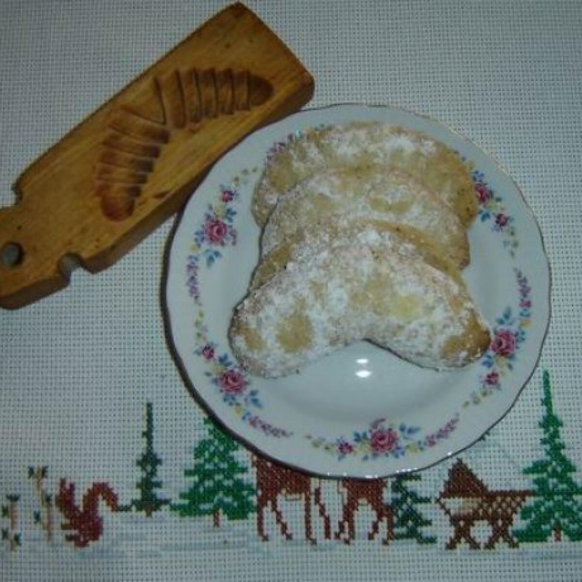 Diós kifli - sütőporos