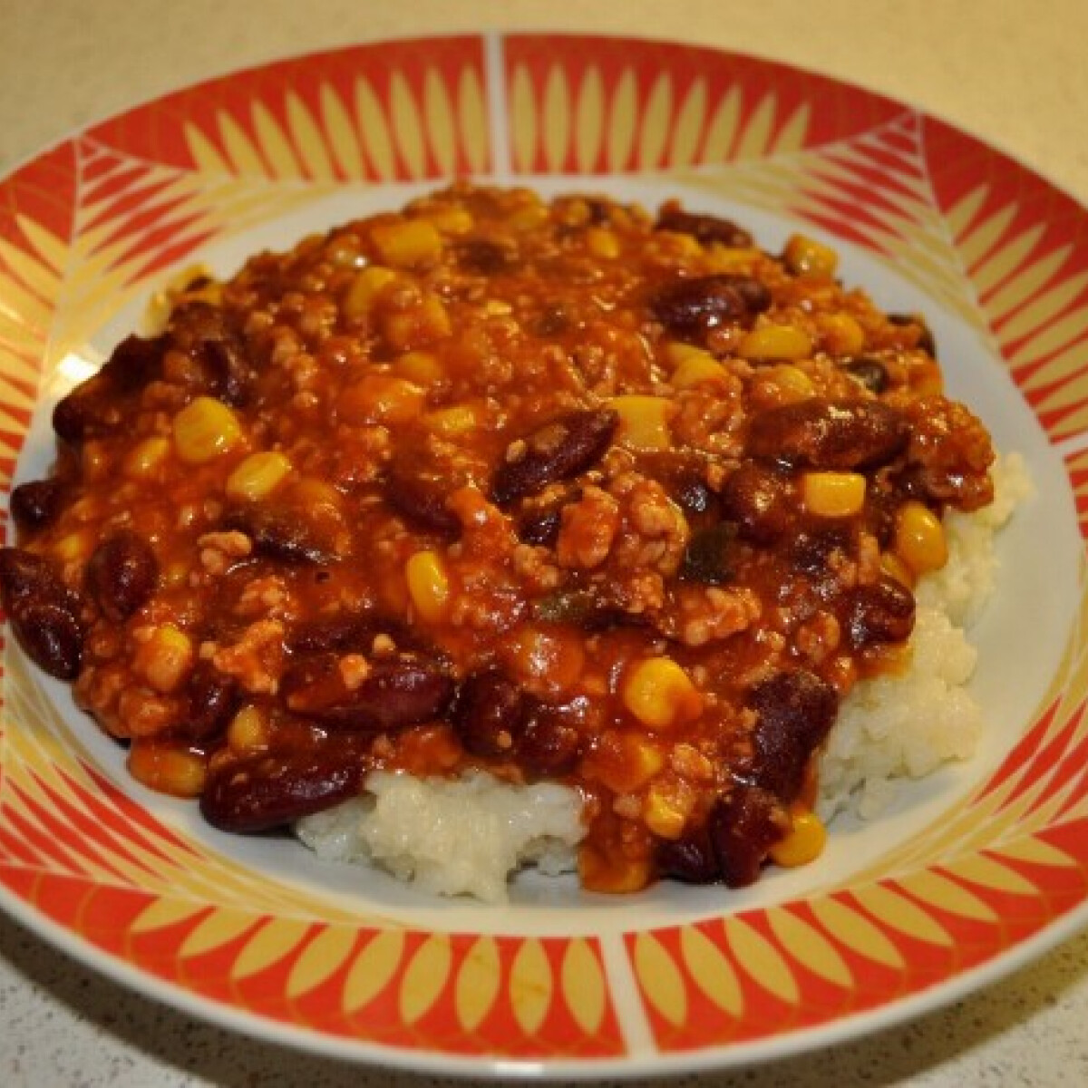 Nemcsípős chilis bab
