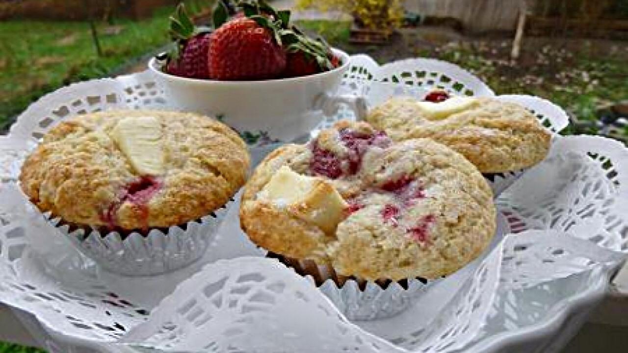 Epres muffin, ahogy witch készíti