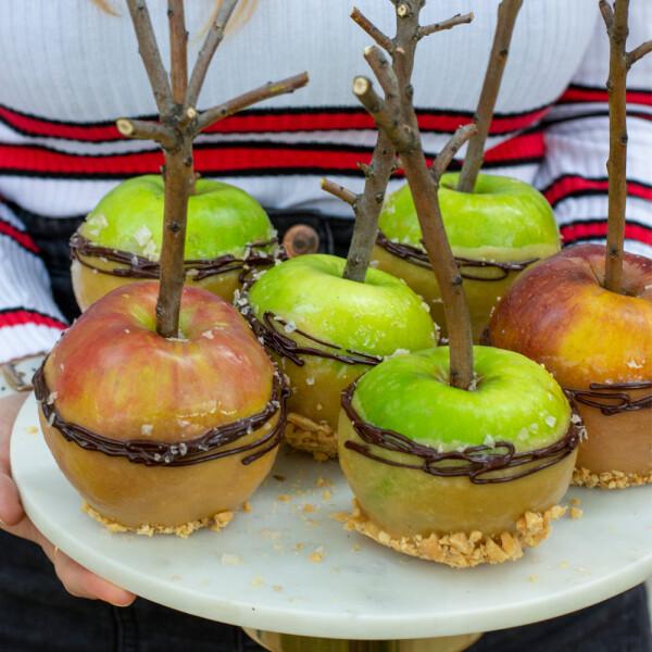 Karamellmázas almák