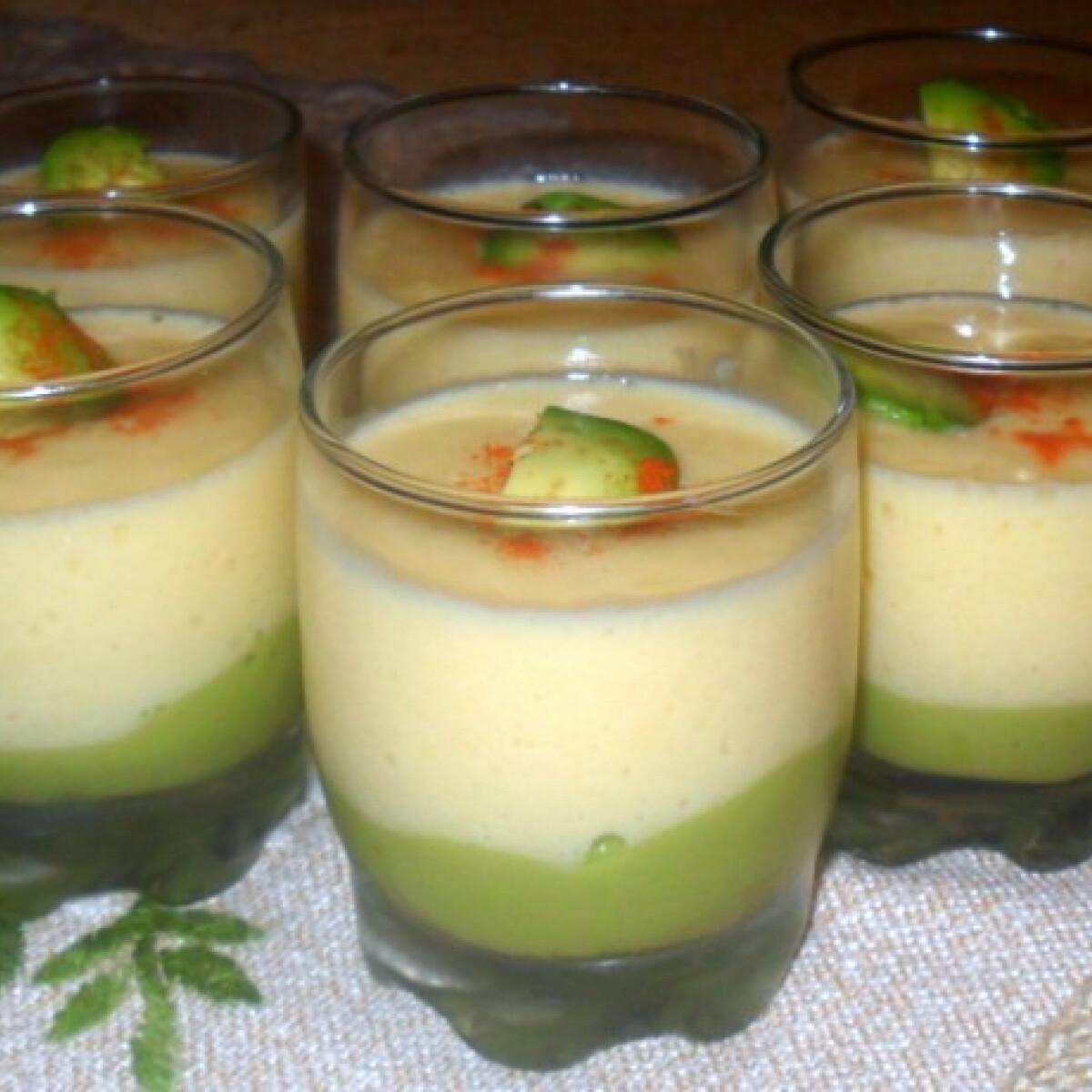 Ezen a képen: Mangókrémes avokádókrém