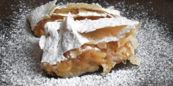 Almás-vaníliás rétes