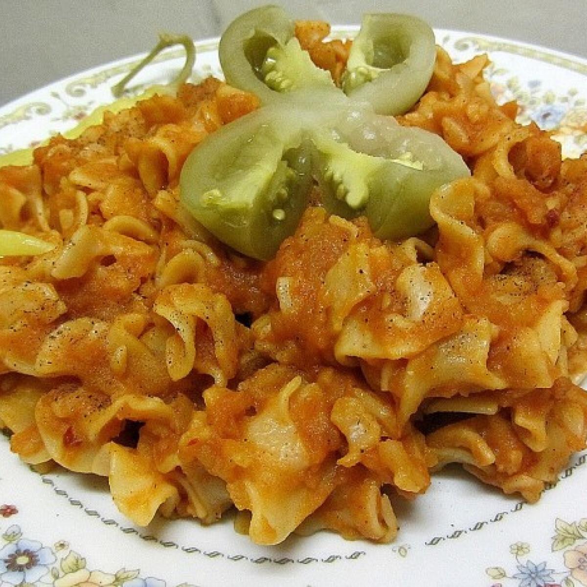 Ezen a képen: Krumplis tészta 1StOne konyhájából