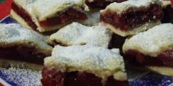 Vaníliapudingos meggyes pite