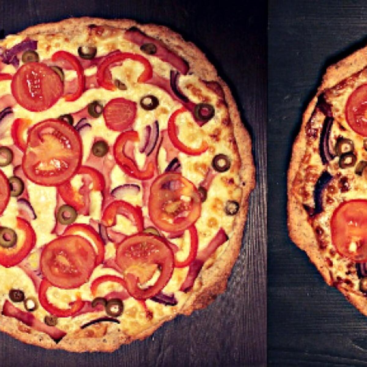 Ezen a képen: Pizza douney konyhájában