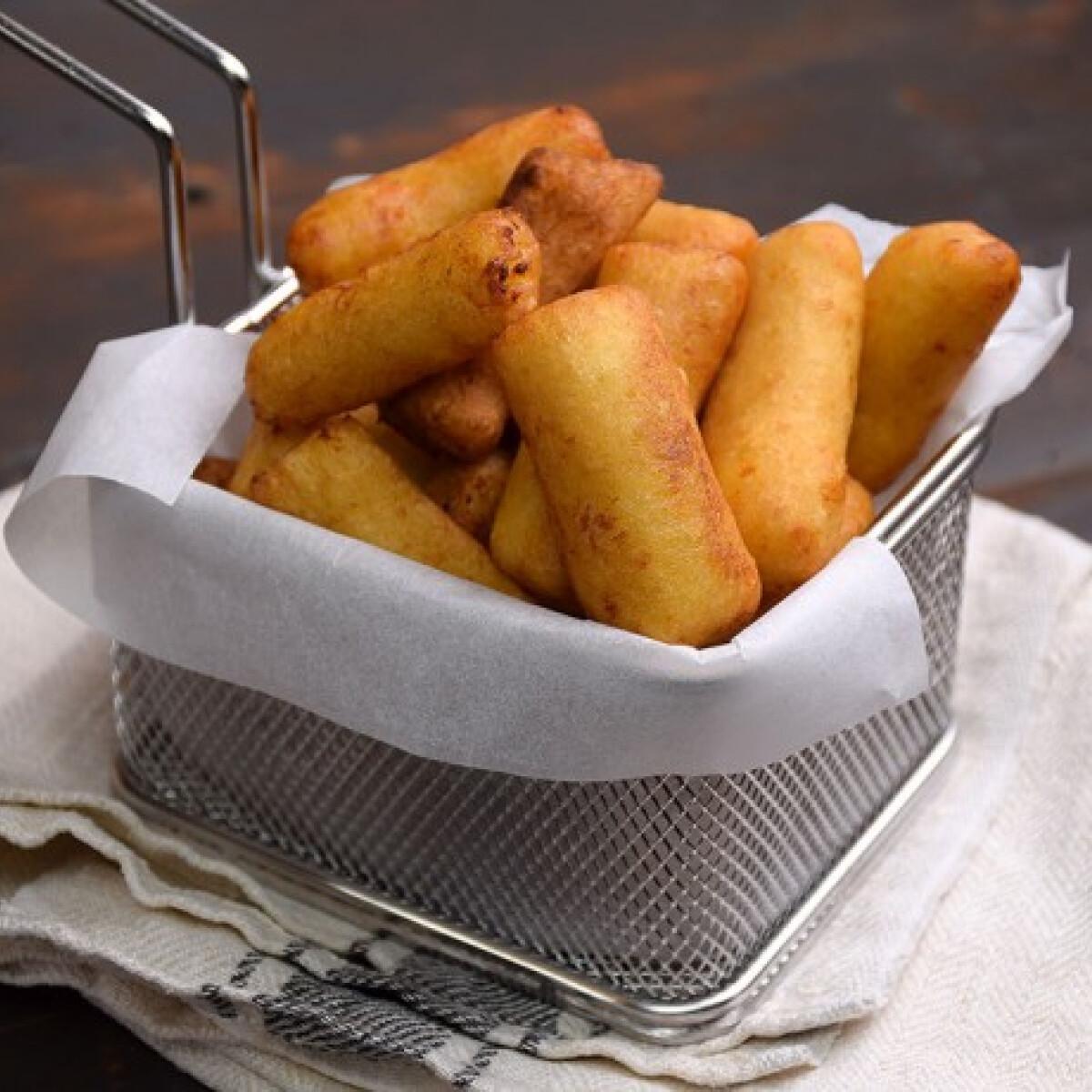 Ezen a képen: A legegyszerűbb krumplikrokett