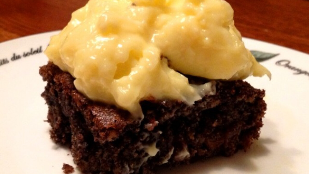 Mákos süti rezgős vaníliapudinggal