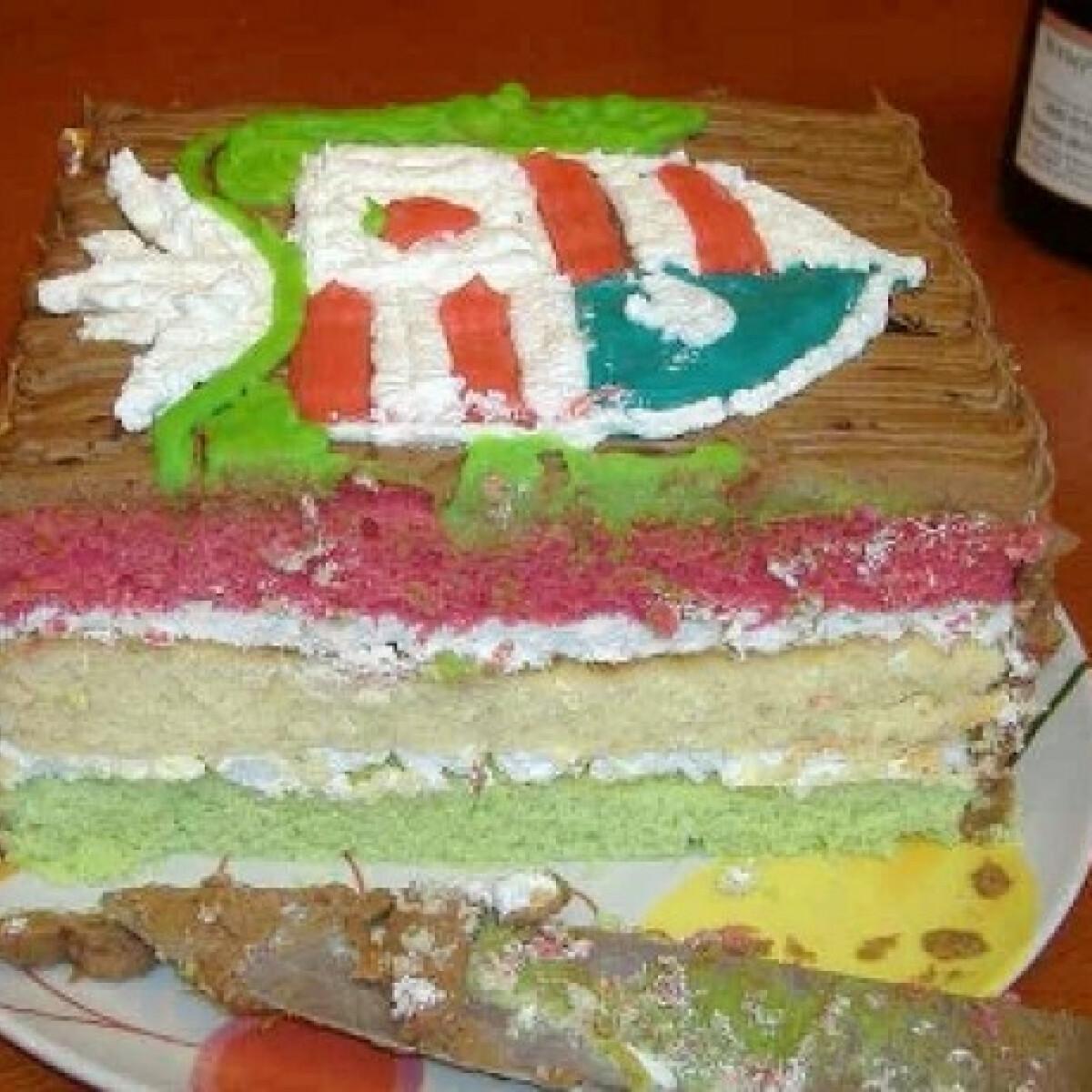 Ezen a képen: Magyar torta