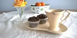 Kókuszlisztes karob muffin