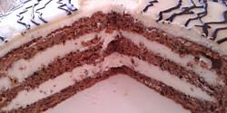 Marcipánkrémes torta