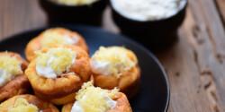 Dupla sajtos-tejfölös puffancs